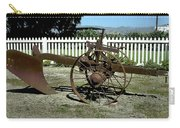Horse Drawn Plow Carry-all Pouch