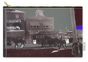 Horse Drawn Trolleys The Great White Hope Set Globe Arizona 1969-2013  Carry-all Pouch