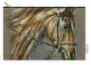 My Horse Face Drawing Carry-all Pouch