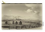 Horse Farm Sepia Carry-all Pouch
