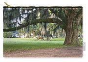 Horse Feeding Under Live Oak Carry-all Pouch