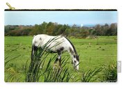 Horse Grazing In Field Carry-all Pouch