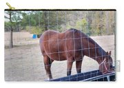 Horse Grazing Carry-all Pouch