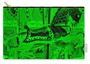 Green Horse E Carry-all Pouch