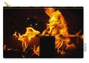 Horse In The Fire Carry-all Pouch