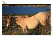 Horse In Wildflower Landscape Carry-all Pouch