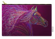 Horse Of Fire Carry-all Pouch
