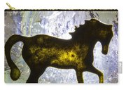 Horse On A Quartz Crystal Carry-all Pouch