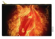 Horse On Fire  Carry-all Pouch