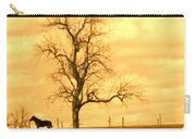 Horse On The Hill Carry-all Pouch