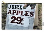 Horse Or Juice Apples Carry-all Pouch