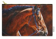 Horse Painting - Ziggy Carry-all Pouch