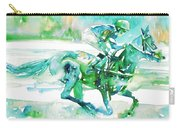 Horse Painting.18 Carry-all Pouch