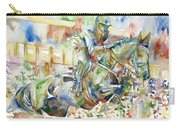 Horse Painting.21 Carry-all Pouch