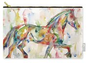 Horse Painting.23 Carry-all Pouch