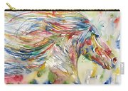 Horse Painting.24 Carry-all Pouch