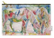 Horse Painting.27 Carry-all Pouch