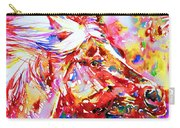 Horse Painting.28 Carry-all Pouch