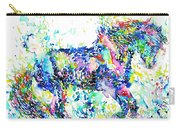 Horse Painting.33 Carry-all Pouch