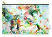 Horse Painting.36 Carry-all Pouch