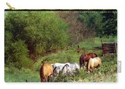 Horse Pasture Carry-all Pouch