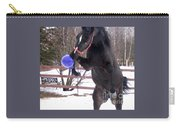Horse Playing Ball Carry-all Pouch