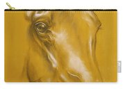 Horse Portrait Carry-all Pouch by Tamer and Cindy Elsharouni