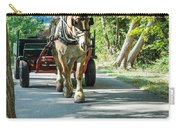 Horse Powered Mackinac Island Carry-all Pouch