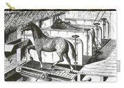 Horse Powered Stall Cleaner, 1880 Carry-all Pouch