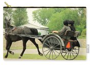 Horse Powered Transportation Carry-all Pouch