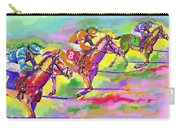 Horse Race  Three Carry-all Pouch