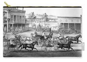 Horse Racing, C1869 Carry-all Pouch