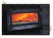 Horse Shoes On Fire Carry-all Pouch