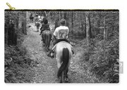 Horse Trail Carry-all Pouch by Frozen in Time Fine Art Photography