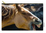Horse Yawn Carry-all Pouch
