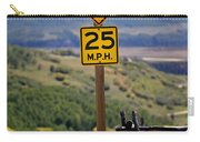 Horseback Riding Sign Carry-all Pouch