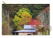 Horses And Barn In The Fall Carry-all Pouch