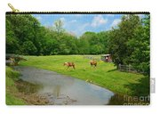 Horses At Home On The Range Carry-all Pouch