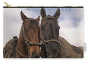 Horses  Belonging To Chagras Ecuador Carry-all Pouch