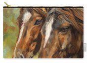 Horses Carry-all Pouch by David Stribbling