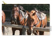 Horses Glacier National Park Montana Carry-all Pouch