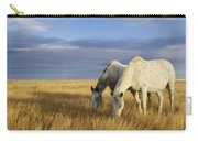 Horses Grazing In Cypress Hills Carry-all Pouch