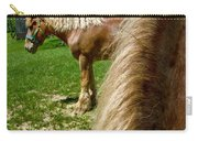 Horses In Meadow Carry-all Pouch