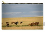Horses In Saskatchewan Carry-all Pouch