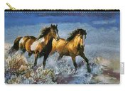 Horses In Water Carry-all Pouch