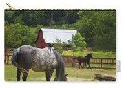 Horses On A Farm Carry-all Pouch