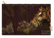Horses On The Hillside Carry-all Pouch