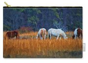 Horses On The March Carry-all Pouch