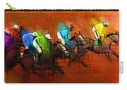 Horses Racing 01 Carry-all Pouch