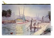 Horseshoe Beach Lights At Sunset Carry-all Pouch